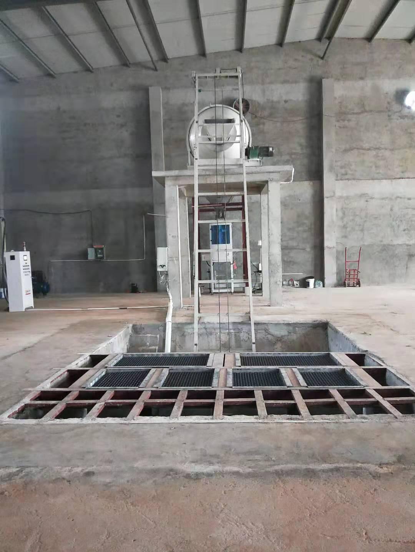 江西抚州设备现场——掺混肥生产线