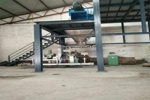 广州新农科现场——腐殖酸水溶肥生产线