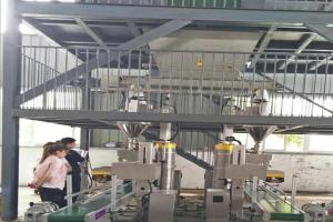 河南漯效王现场——水溶肥双包装生产线