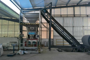 淄博施尔康现场——复合肥包装设备