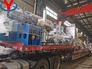 固体水溶肥设备和液体水溶肥设备两套设备发货——目的地:陕西