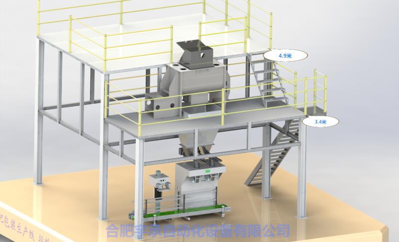 山东半自动双工位包装生产线