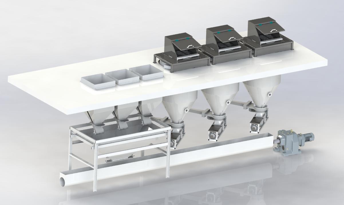 上海颗粒粉剂自动配料系统