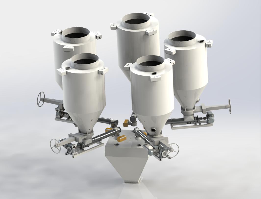 上海粉剂增量式自动配料系统