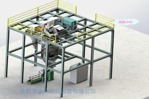 全自动立体式水溶肥单包装线配置