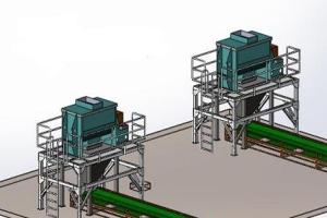 大量元素水溶肥自动生产线