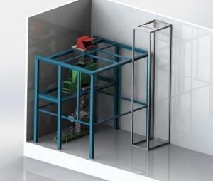 半自动水溶肥成套生产线