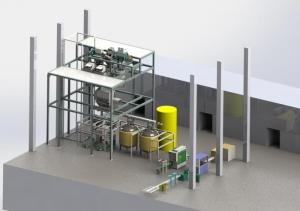 固液水溶肥全自动生产线