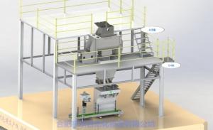 江西半自动双工位包装生产线