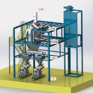 5-25kg水溶肥半自动生产线