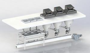颗粒粉剂自动配料系统