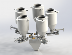 粉剂增量式自动配料系统