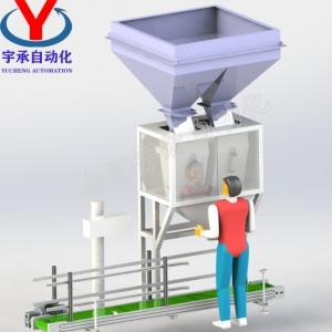 颗粒肥专用包装机组